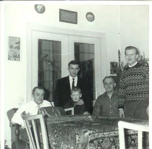 Ome Piet, Antonio, Koos, opa, vader