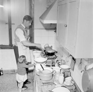 koken met opa